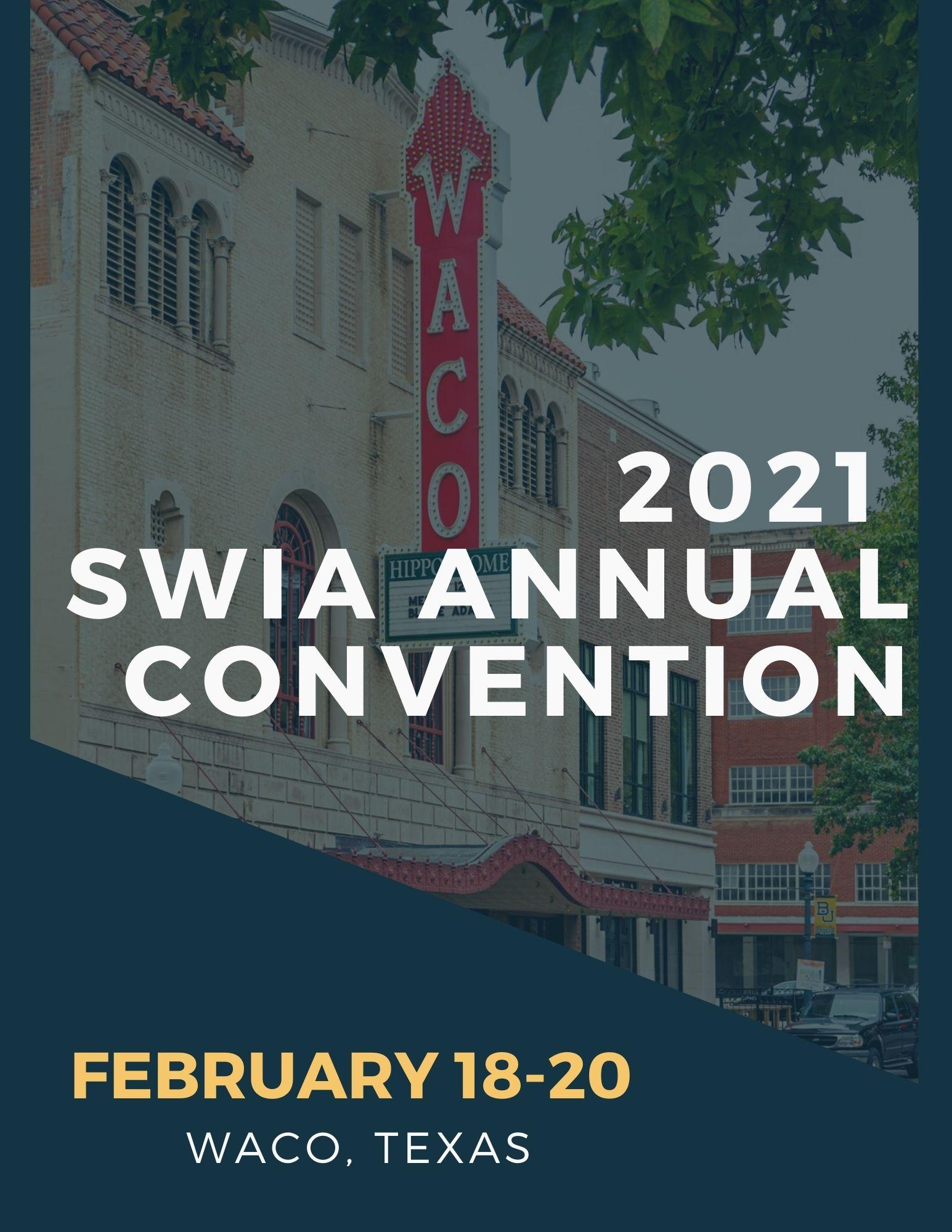2021 SWIA ANNUAL CONVENTION